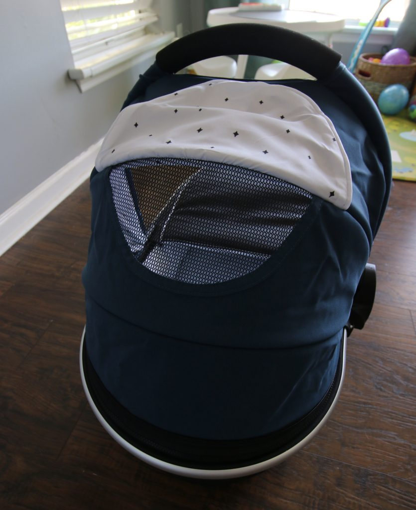 mockingbird bassinet from the back