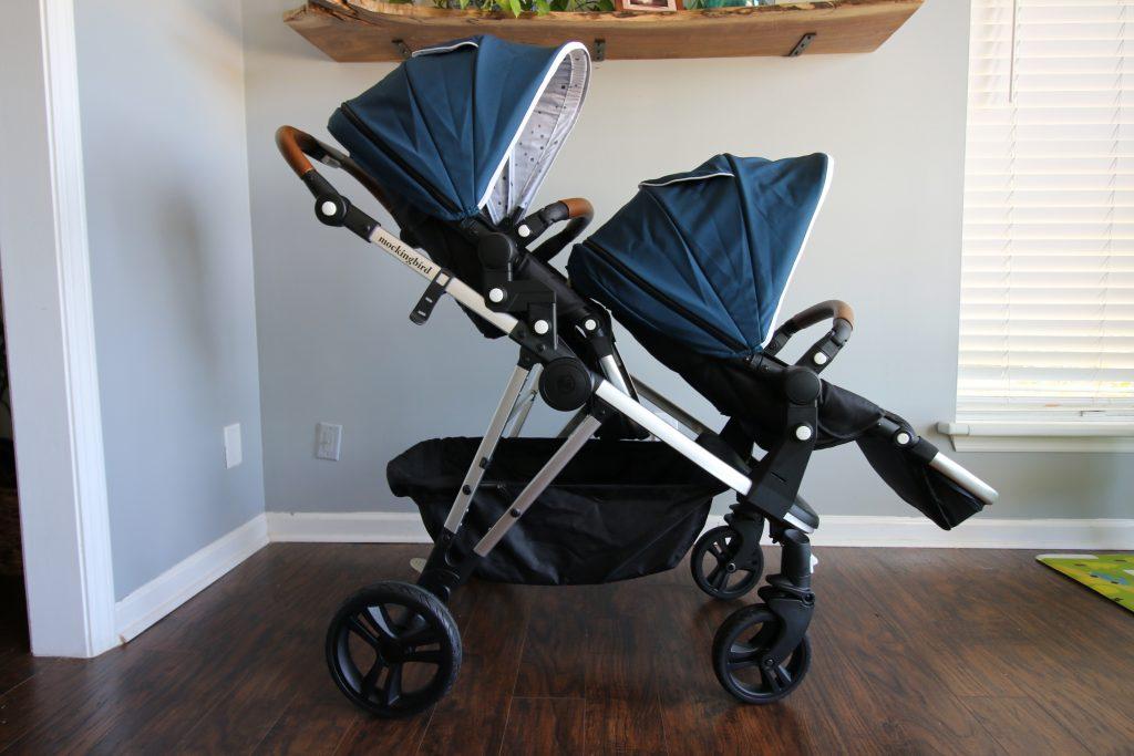 mockingbird double stroller both seats facing forward