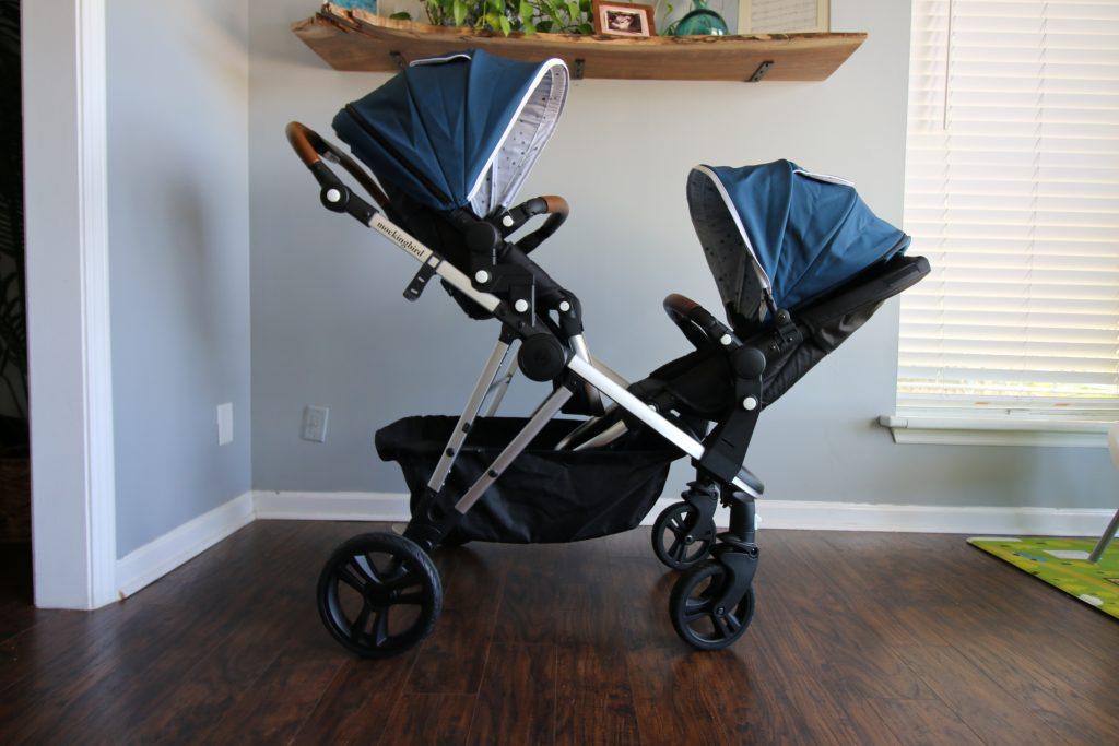 mockingbird double stroller configuration