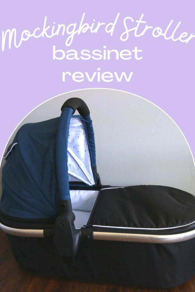 mockingbird stroller carriage bassinet review
