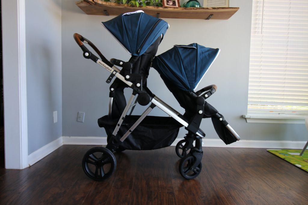mockingbird stroller seats facing opposite directions