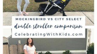 mockingbird vs city select double stroller comparison