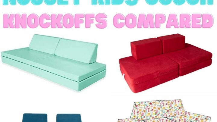 Nugget Couch vs Foamnasium Blocksy - Celebrating with kids