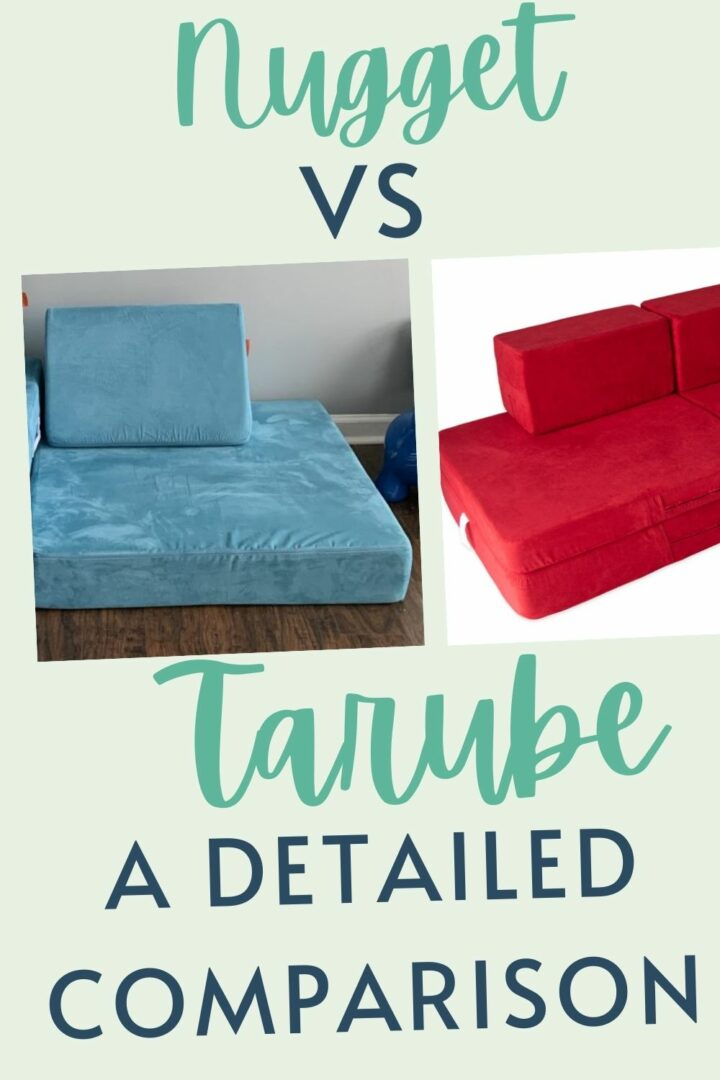 Nugget Couch vs. Tarube - Celebrating with kids