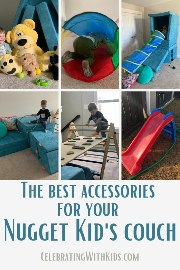 the best accessories for your nugget kids couch