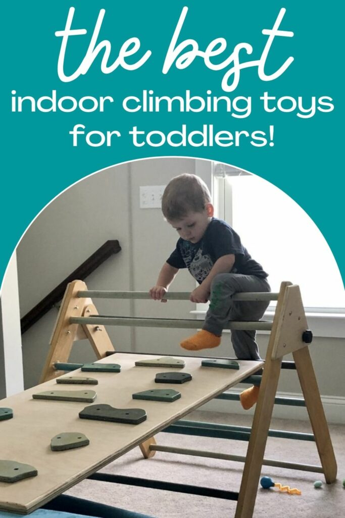 the best indoor climbing toys for toddlers
