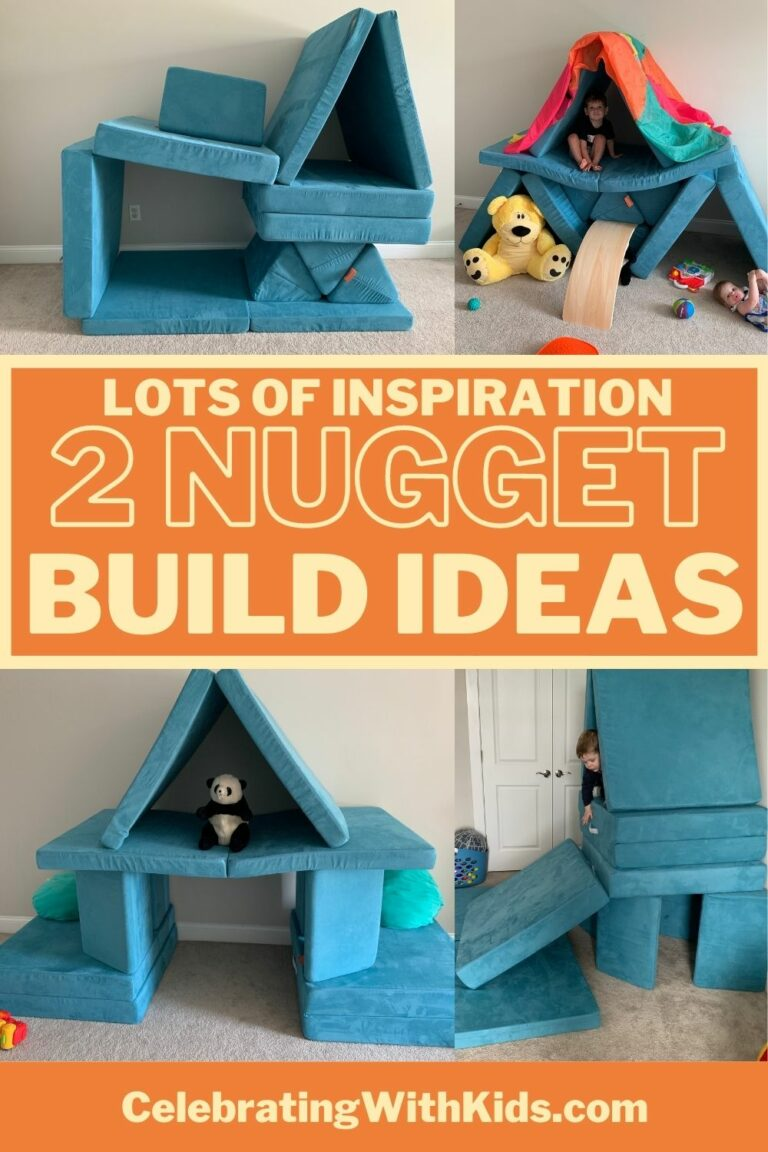 Two Nugget Configuration Ideas - Celebrating with kids
