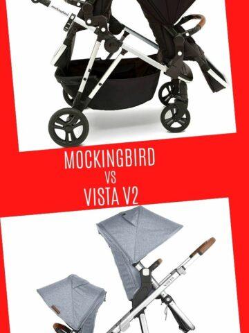 mockingbird vs vista v2 double stroller comparison