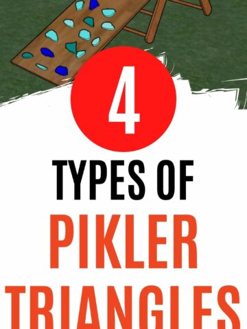 4 types of pikler triangles