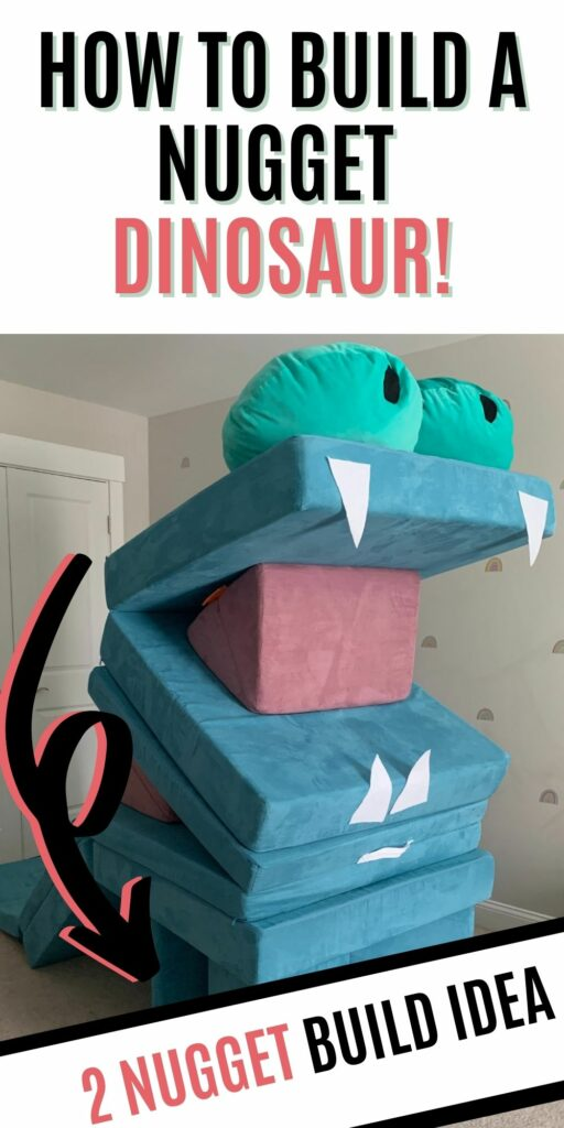 HOW TO BUILD A NUGGET DINOSAUR