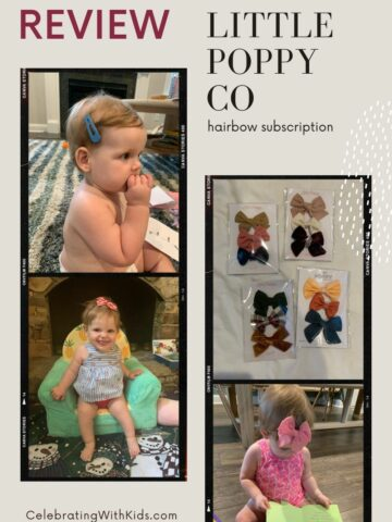 Little Poppy Co bow subscription box review