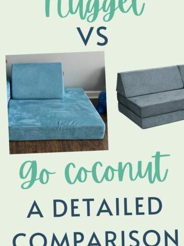 Nugget vs go Coconut couch comparison