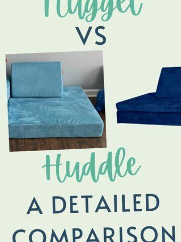 Nugget vs huddle couch comparison