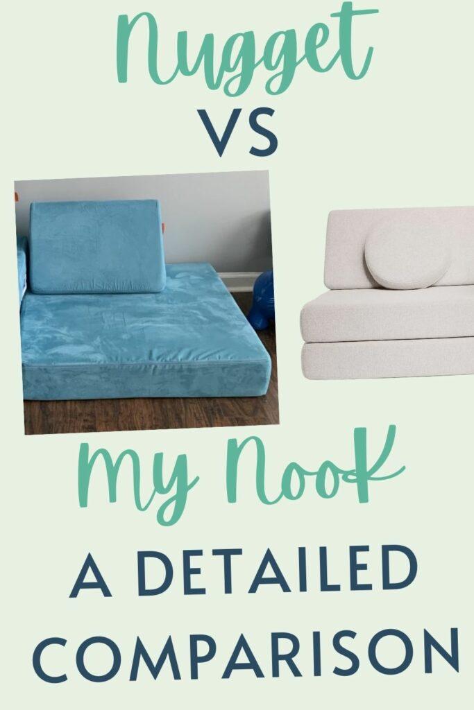 Nugget vs my nook couch comparison