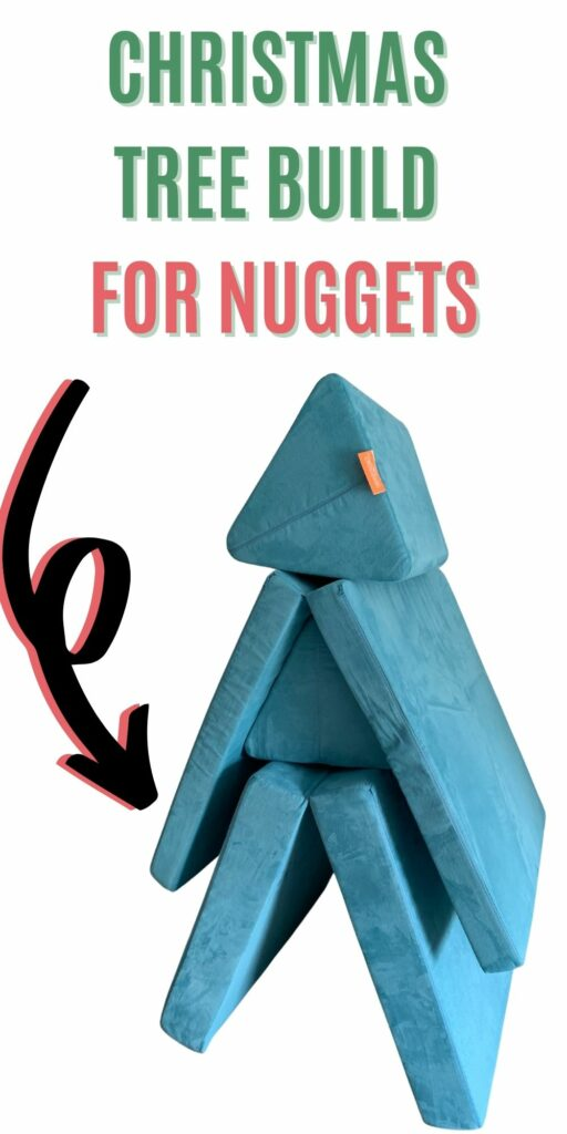 christmas tree build for nuggets