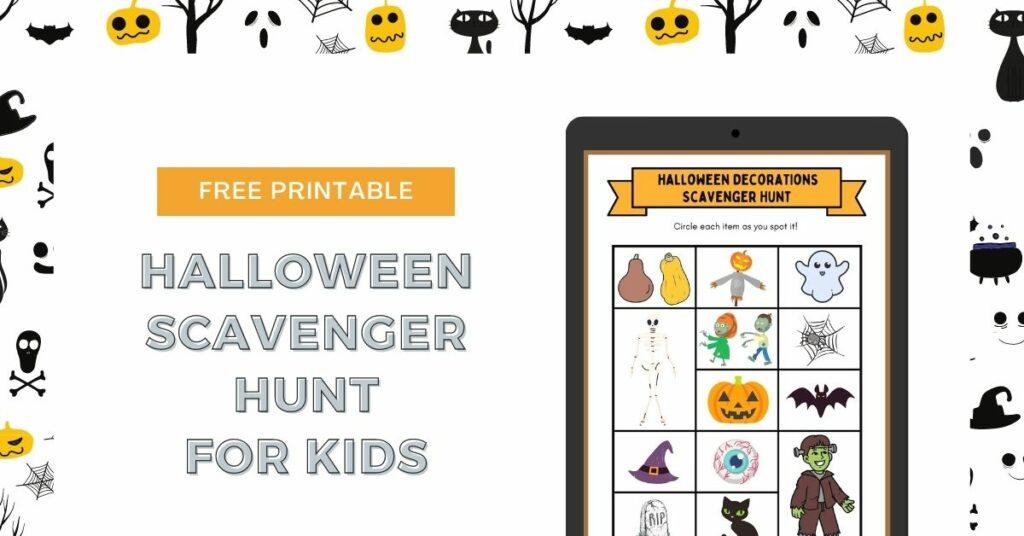 free printable halloween scavenger hunt for kids (1)