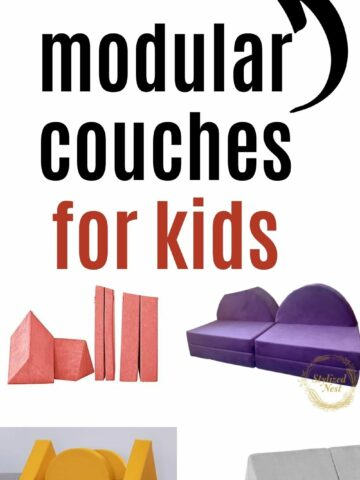 the best modular couches for kids