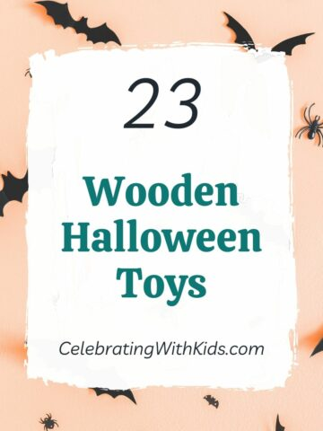 the best wooden halloween toys