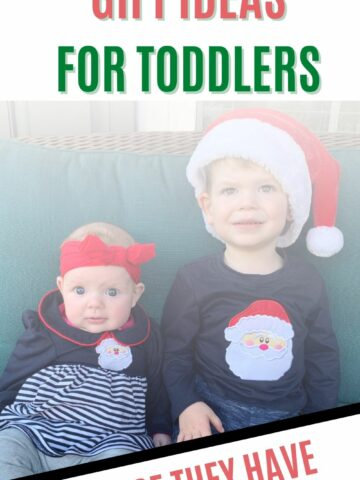 EXPERIENCE GIFT IDEAS FOR TODDLERS