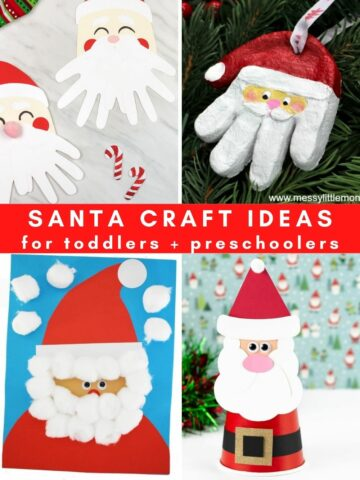 Santa craft ideas for preschoolers