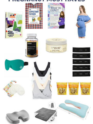 pregnancy must haves for each trimester